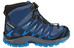 Salomon XA Pro 3D Mid CSWP Shoes Juniors slateblue/blue depth/bright blue